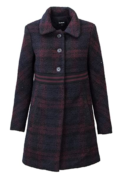 Desigual CAPPOTTO DONNA ABRIG SALT LAKE CITY 18WWEWA0 38 (s) nero  Amazon.it   Abbigliamento f15033978b5