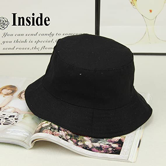 25772d8a8 SUMBAGO Printed Bucket Hat for Men Women Cute Owl Unisex Sun Fishing ...