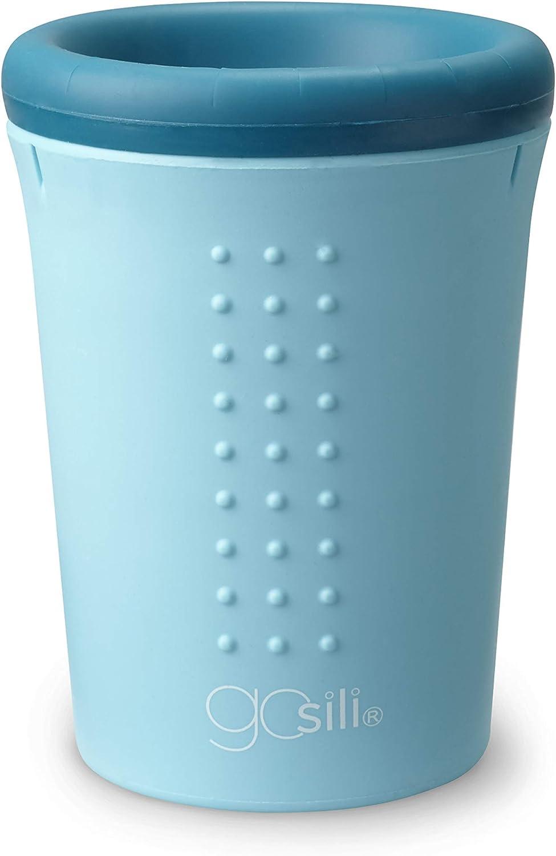 GoSili 4351202 12oz Silicone 360/° Cups Teal//Sky Blue