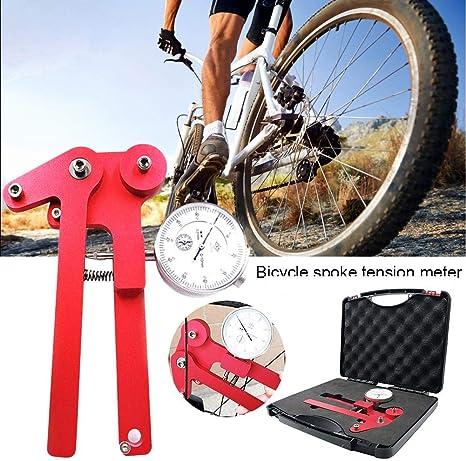 jinclonder Medidor de tensión de Rayos de Bicicleta para Bicicleta ...