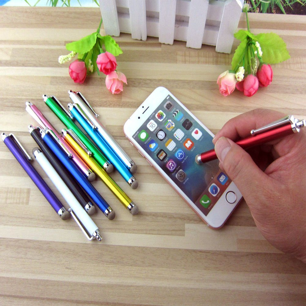 iBart Mesh Fiber Tip Series Precision Stylus Pens for Touch Screens Devices Tablet iPad 10 Colors iPhone iBartProducts WE90GT0 Stylus Kindle
