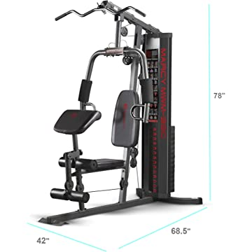 cheap Marcy 150-lb Multifunctional Home Gym Station for Total Body Training MWM-990 2020