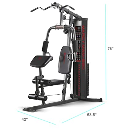 Amazon.com : marcy 150 lb multifunctional home gym station for total