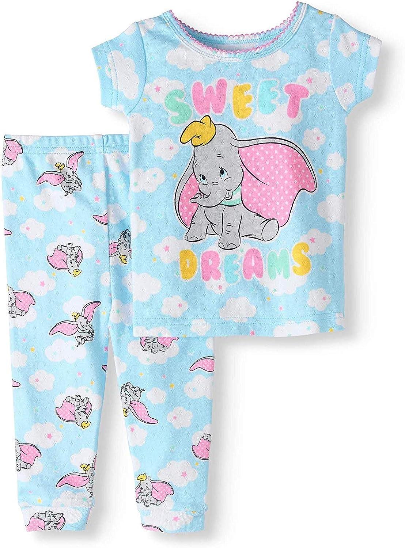 Disney Baby Girls Marie Dumbo Lady Dalmatian Mixed Sleepsuits BNWT Babygrow Set