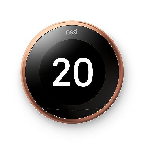 Nest Learning Thermostat 3G  : le meilleur haut de gamme