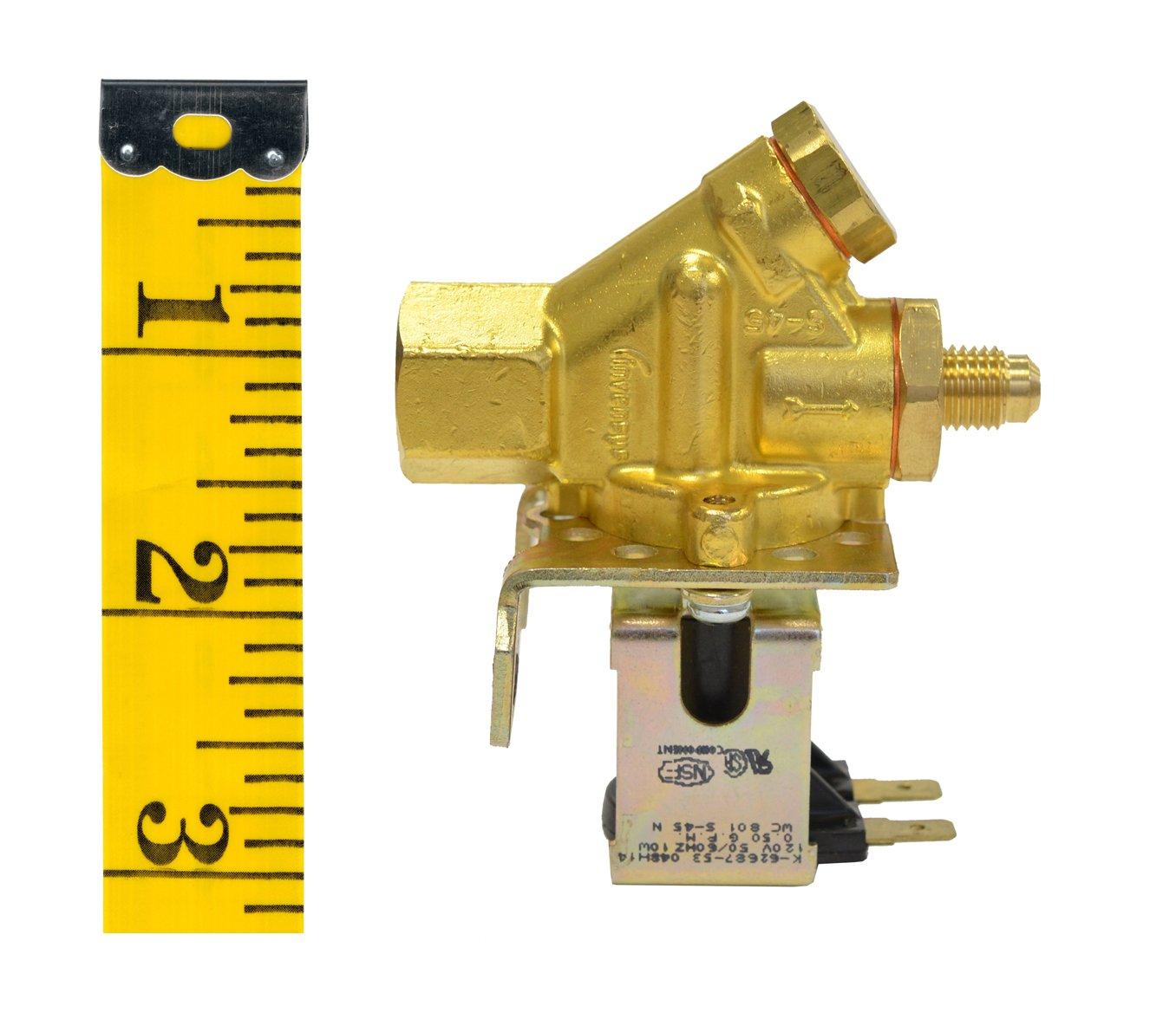 Wilbur Curtis WC-801 Brass Inlet Valve by Wilbur Curtis (Image #3)