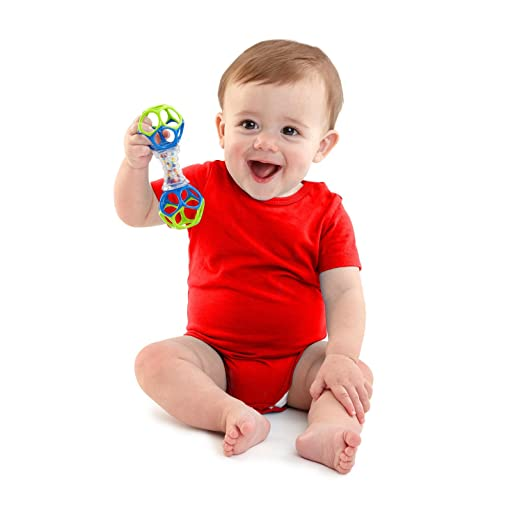The only toys you will need for your newborn baby to promote sensory and cognitive development. Color and sound help stimulate their little eyes and minds.