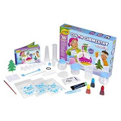 Crayola Arctic Color Chemistry Set for Kids, Steam/Stem Activities, Educational Toy, Ages 7, 8, 9, 10, Multicolor: Toys & Games