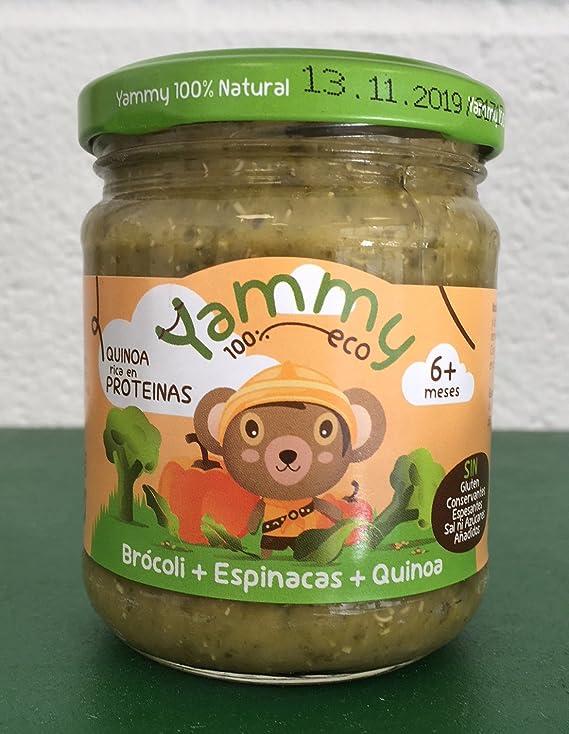 Yammy - Potito Comida Beb Ecológico de Brócoli Espinacas ...