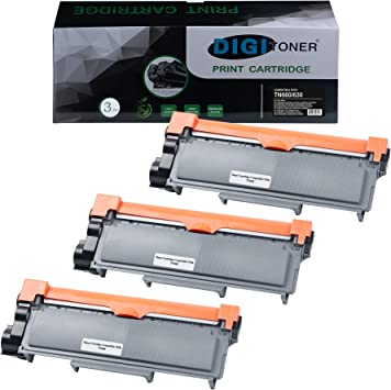 TonerPlusUSA Compatible Toner Cartridge Replacement for Brother TN660 Black, 1-Pack