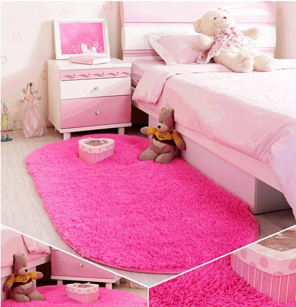 Super Soft Children Kids Room Rugs Mat Anti-Skid Shaggy Area Rugs Home Decor