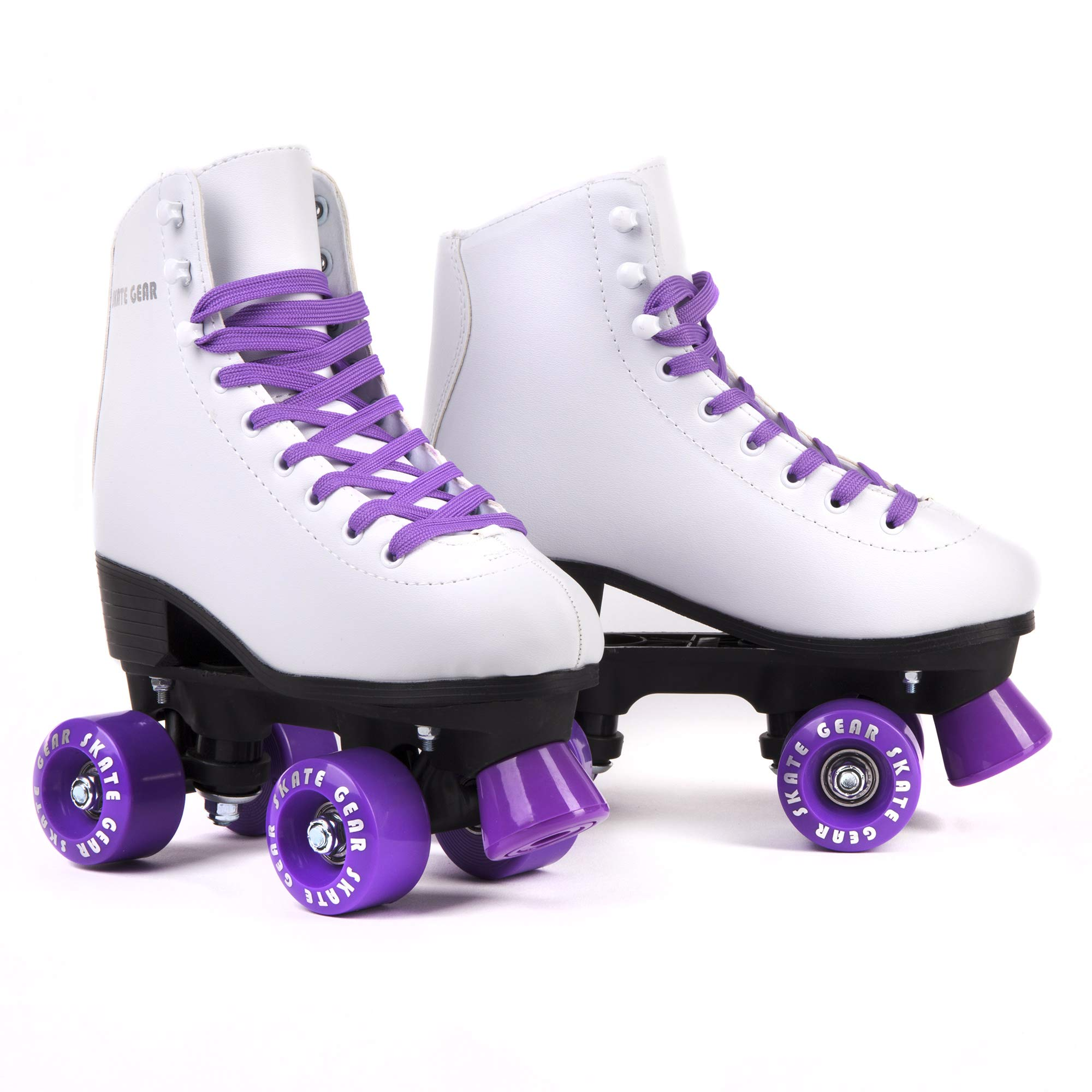 C SEVEN Classic Retro Roller Skates for Kids and Adults (Purple, Men's 8 / Women's 9) by C SEVEN