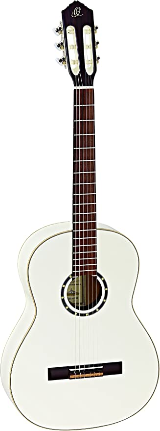 ORTEGA Guitarra Clásica Family Series 4/4 con Funda Slim Neck - WH ...
