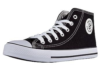 fb0c9d1cc8f99d Amazon.com  Shinmax Low-Cut Hitops Canvas Shoes Unisex Canvas ...