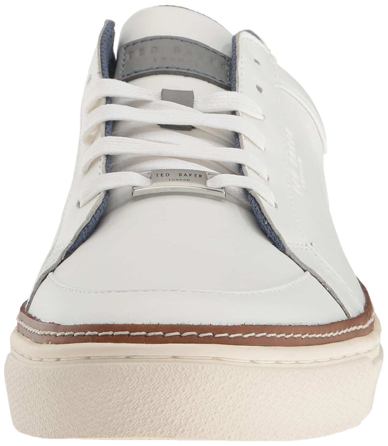 3fc1cc20f7e6 Amazon.com  Ted Baker Men s Rouu Fashion Sneaker White 8 M US  Shoes