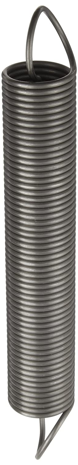 Associated Spring Raymond T32890 Music Wire Extension Spring Steel Metric 36 mm OD 3.2 mm Wire Size 243 mm Free Length 653 mm Extended Length 243.0 N Load Capacity 0.50 N mm Spring Rate Pack of 10