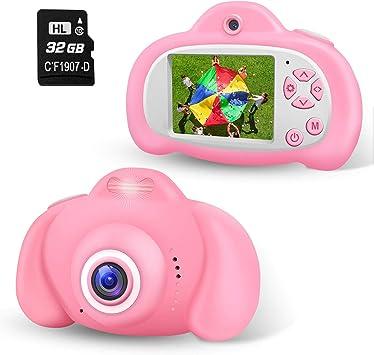 Amazon.es: 2NLF Camara para Niños Cámaras Digital de Video para ...