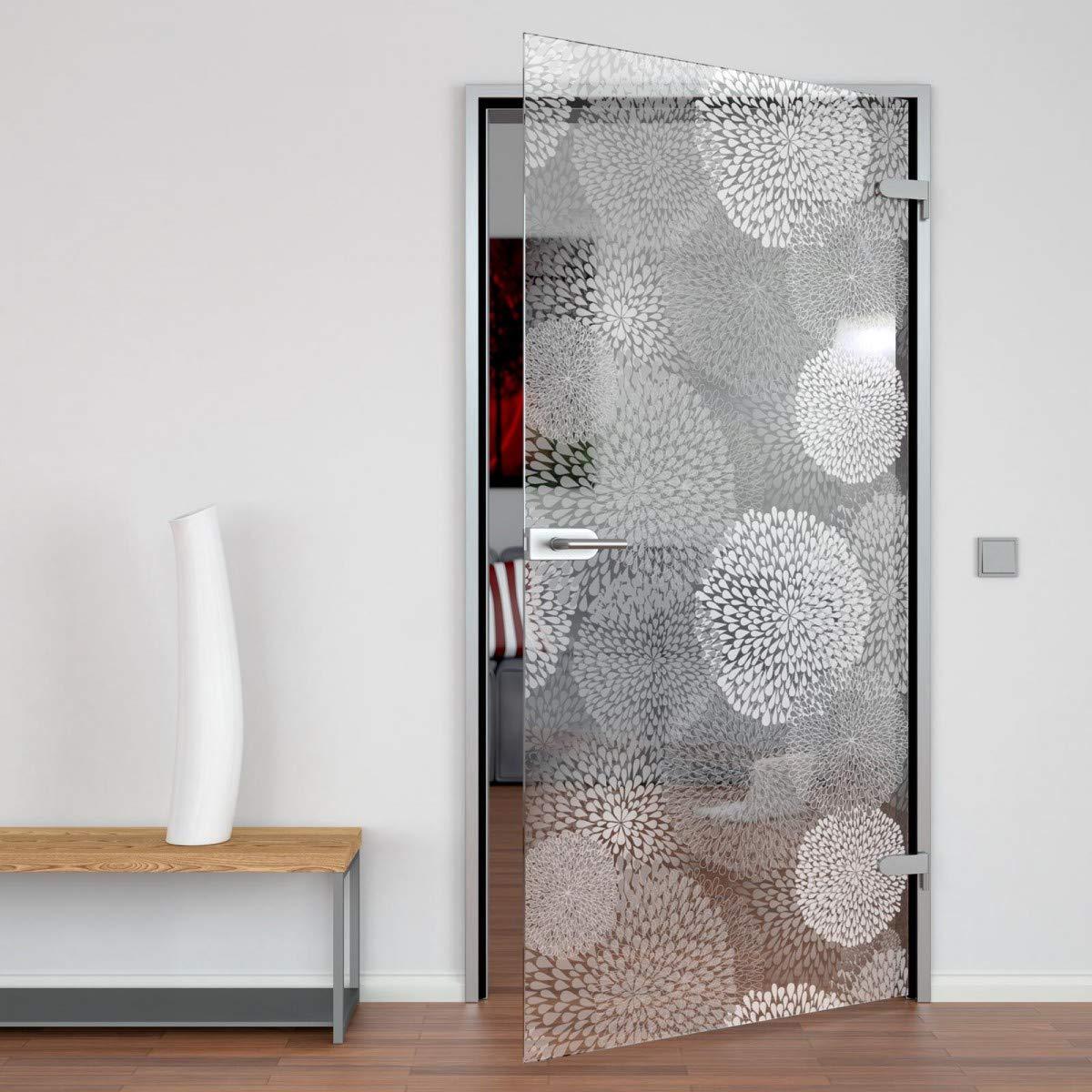 Manija de bisagra con cerradura para puertas de cristal sin marco: Amazon.es: Bricolaje y herramientas