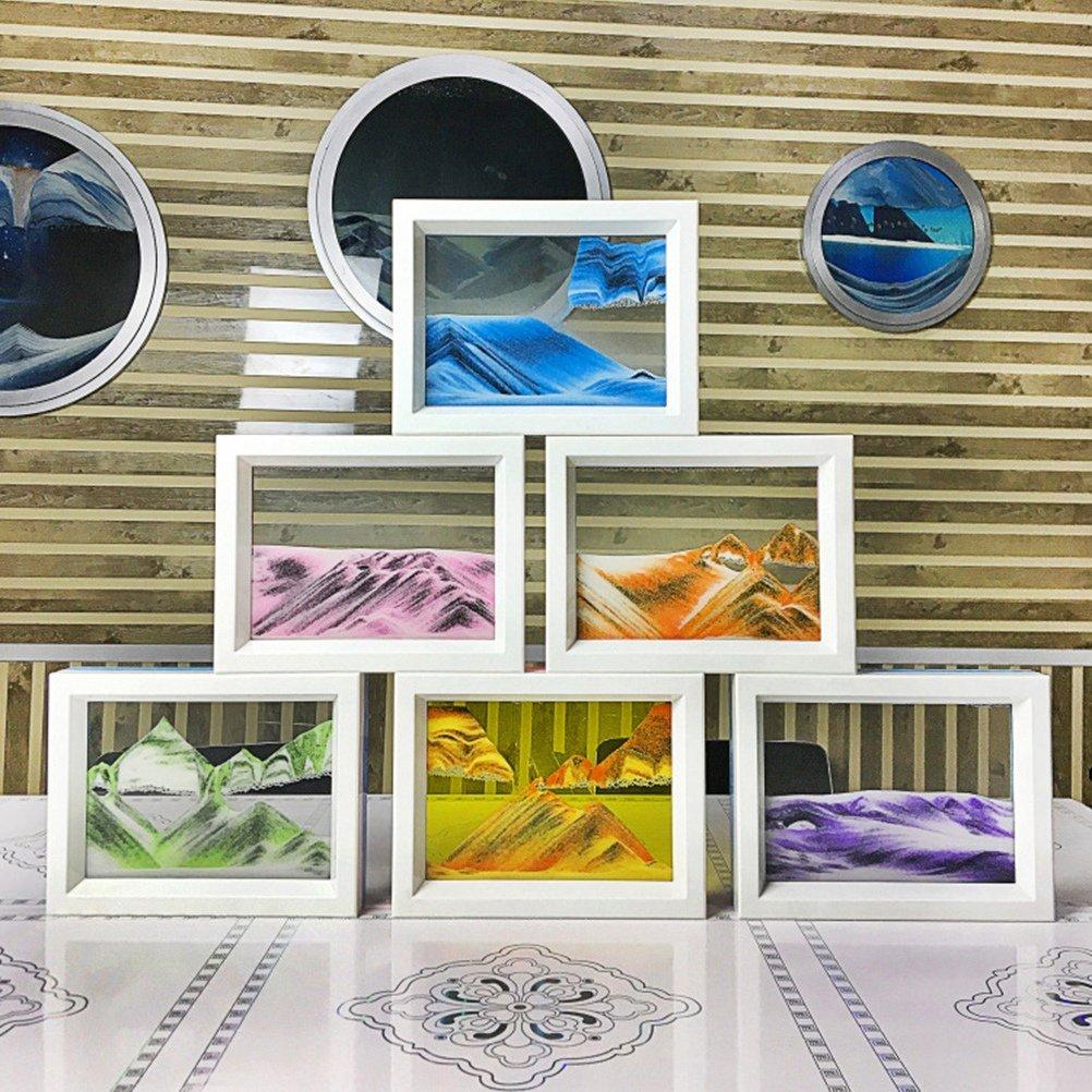 Toyvian Sable mouvant Sable Sable Dessiner d/écoration de Table pour Le Bureau /à Domicile