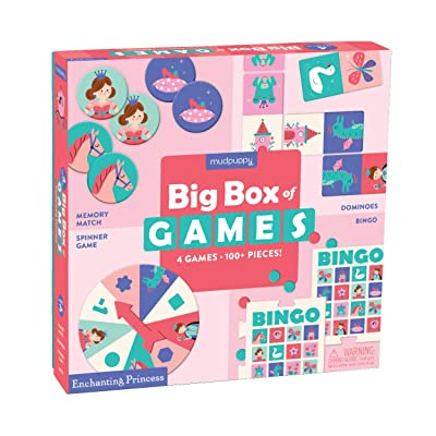 Mudpuppy Enchanting Princess Big Box of Game: Mudpuppy, Bikini sous la Pluie: Toys & Games