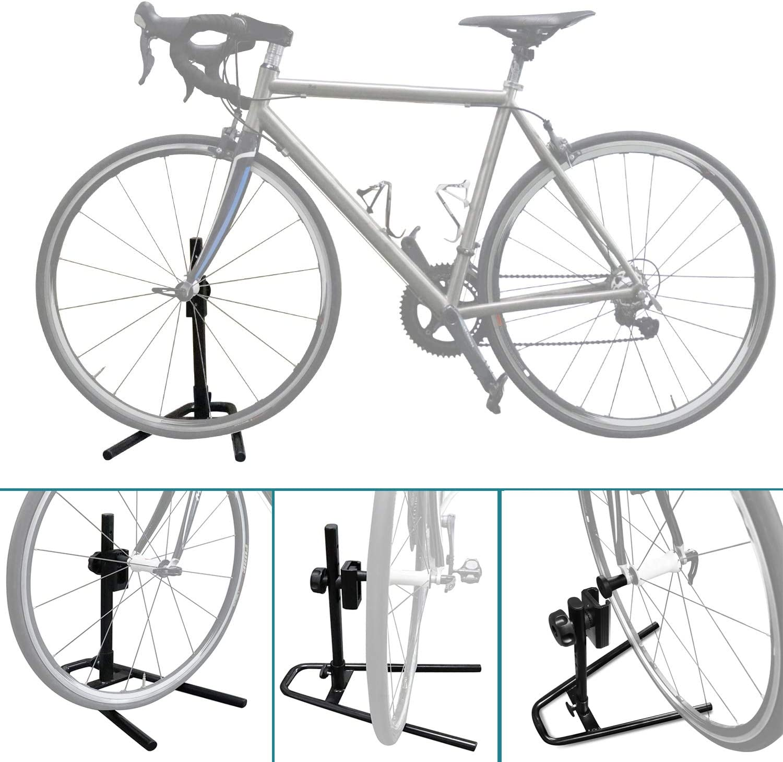 4 Wheel Heavy Duty Rolling Bike Bicycle Floor Display Stand Storage Portable