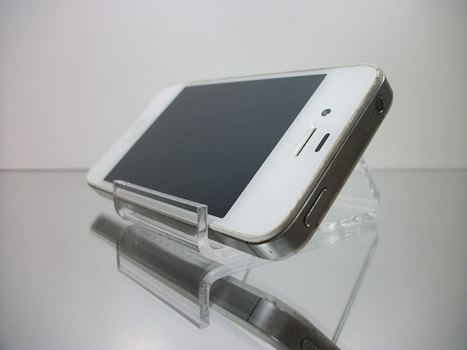 IPhone//Easel Display Bracket Clear Plastic Stand Holder