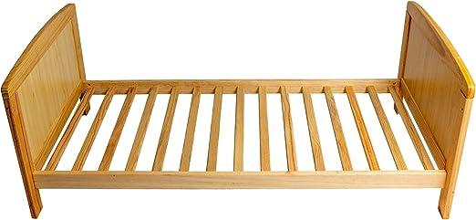 Cama de bebé transformable en cama de niño 120 x 60 cm: Amazon.es ...
