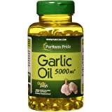 Puritans Pride Garlic Oil, 5000 Mg, 250 Count