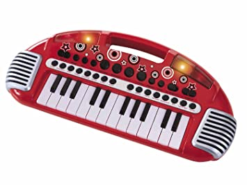 Early Learning Centre Carry Along Keyboard Red Amazoncouk