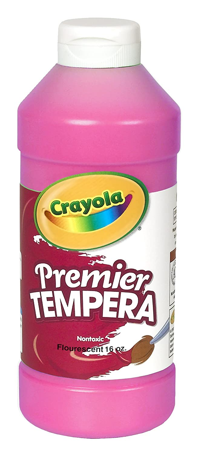 B0006OFABE Crayola Fluorescent Paint 16-Ounce Plastic Squeeze Bottle, Shocking Pink 71fFrgsi4QL