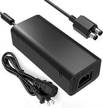 YCCSKY - Fuente de alimentación para Xbox 360 (Incluye Cable para Xbox 360 Slim): Amazon.es: Electrónica