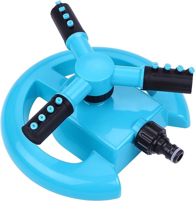 BOBOO Garden Sprinkler 360 Degree Rotating Lawn Sprinkler - The Best For Coverage