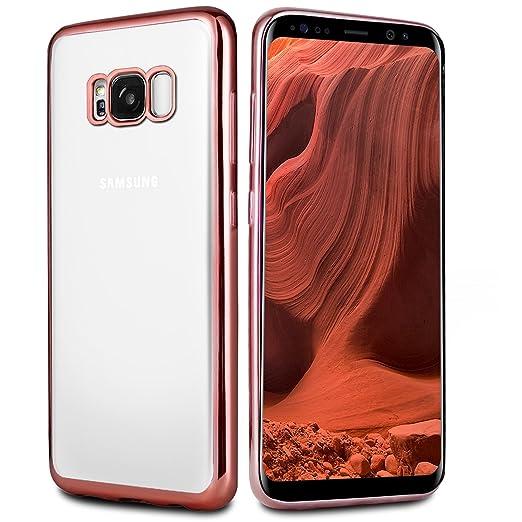 24 opinioni per Custodia Galaxy S8 , innislink Galaxy S8 Bumper Case [Protezione goccia] Morbida