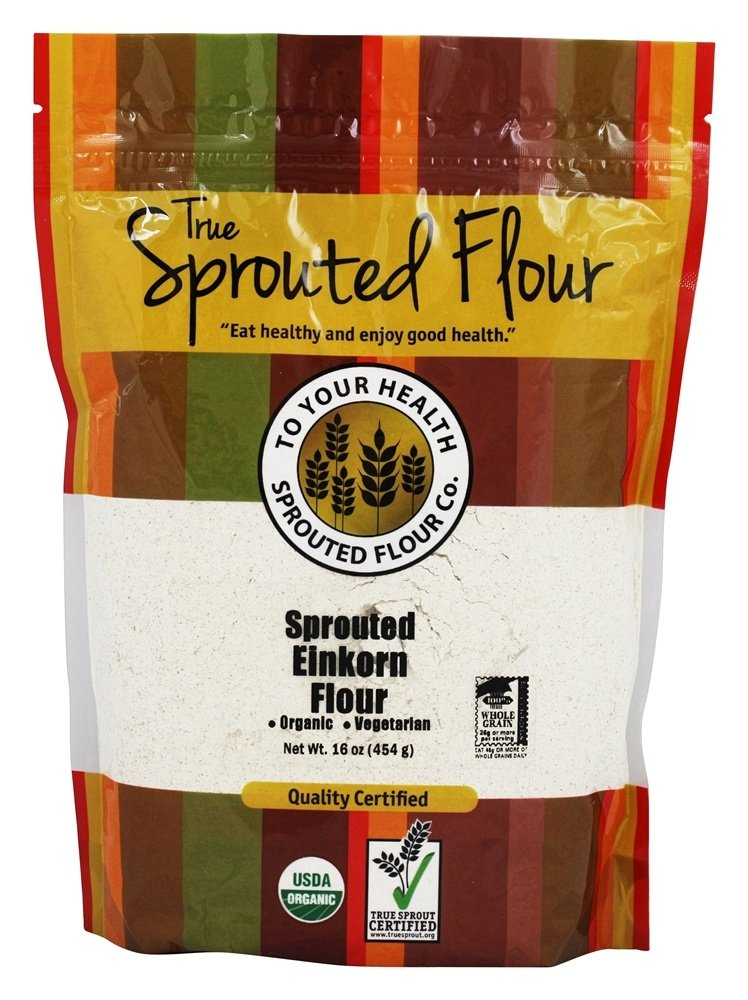 1 lb. Organic, Sprouted Einkorn Flour