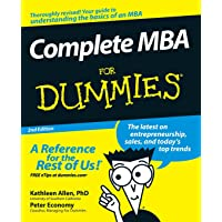 Complete MBA For Dummies 2e (For Dummies Series)