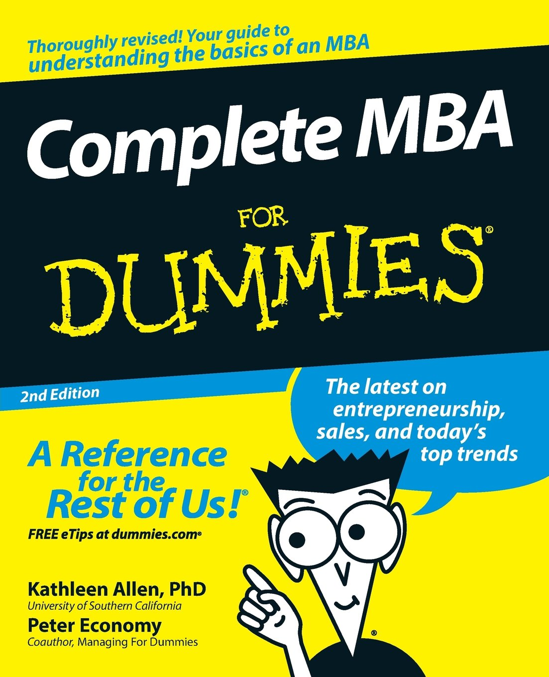 Complete MBA For Dummies: Kathleen Allen, Peter Economy: 9780470194294:  Amazon.com: Books