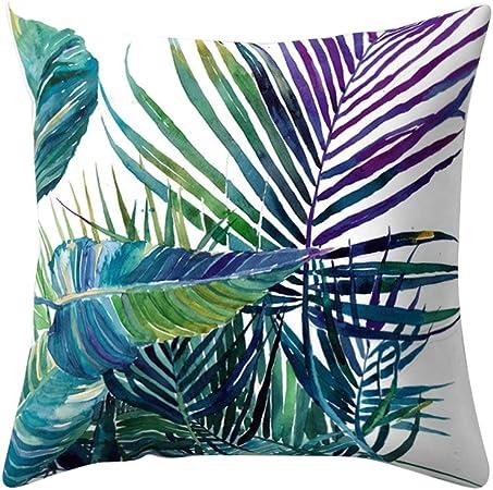 Profusion Circle Housse de coussin moderne /à imprim/é tropical Multicolore Peau de p/êche Taille unique #2