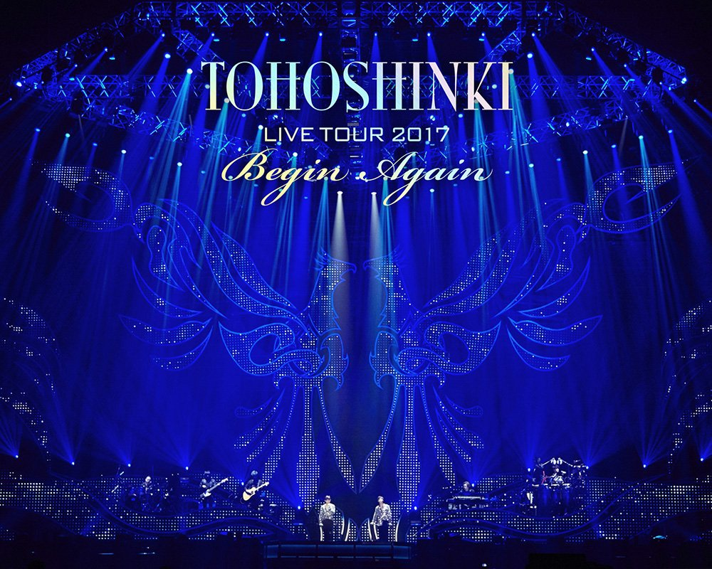 東方神起 LIVE TOUR 2017 ~Begin Again~(Blu-ray Disc2枚組)