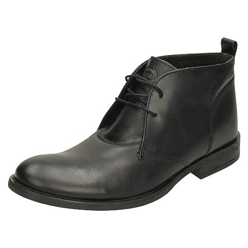 8f977afdaf2 Mens Base London Ankle Boots Teak MTO  Amazon.co.uk  Shoes   Bags