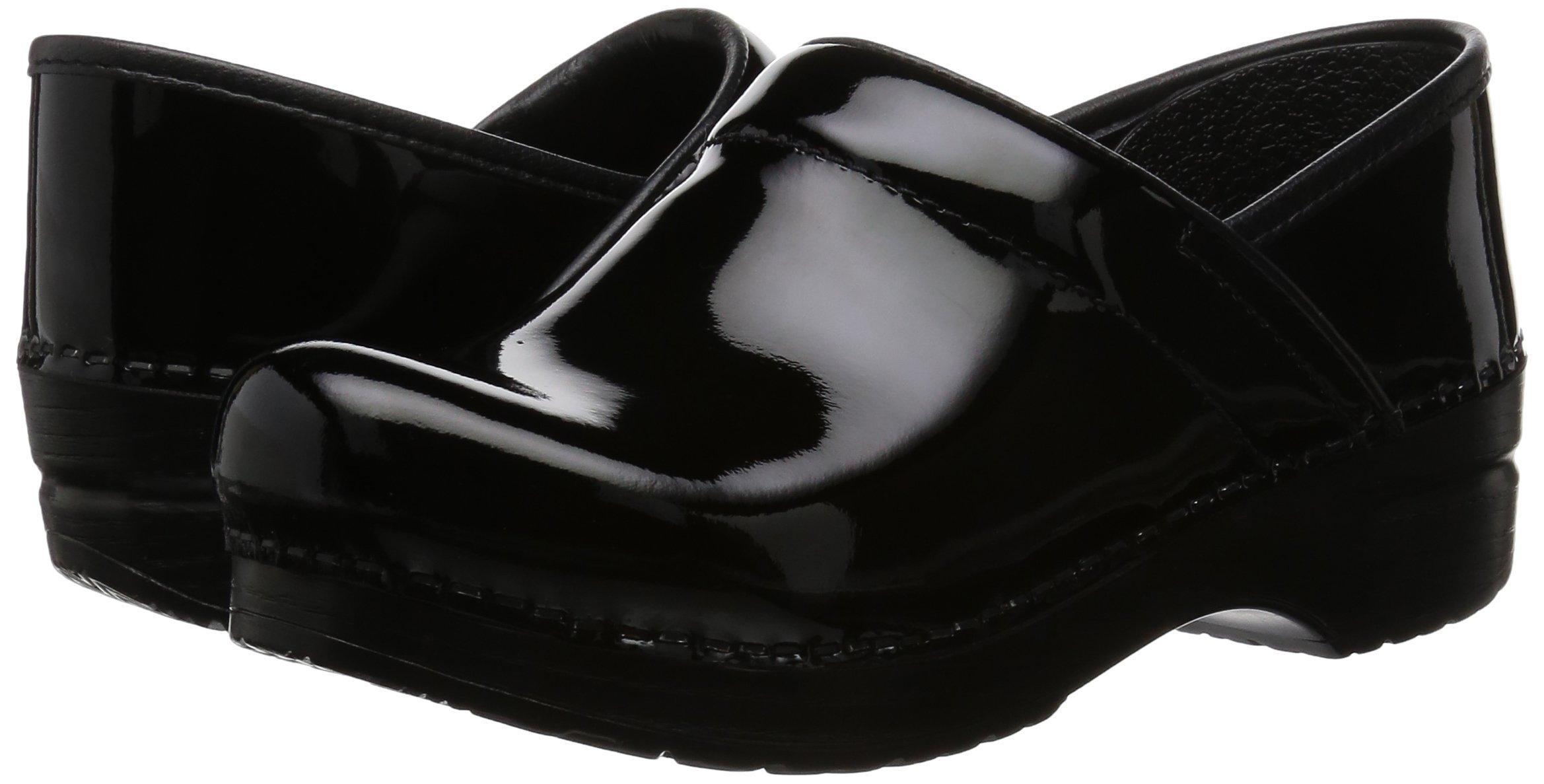 Dansko Women's Professional Patent Leather Clog,Black Patent,37 EU / 6.5-7 B(M) US by Dansko (Image #6)
