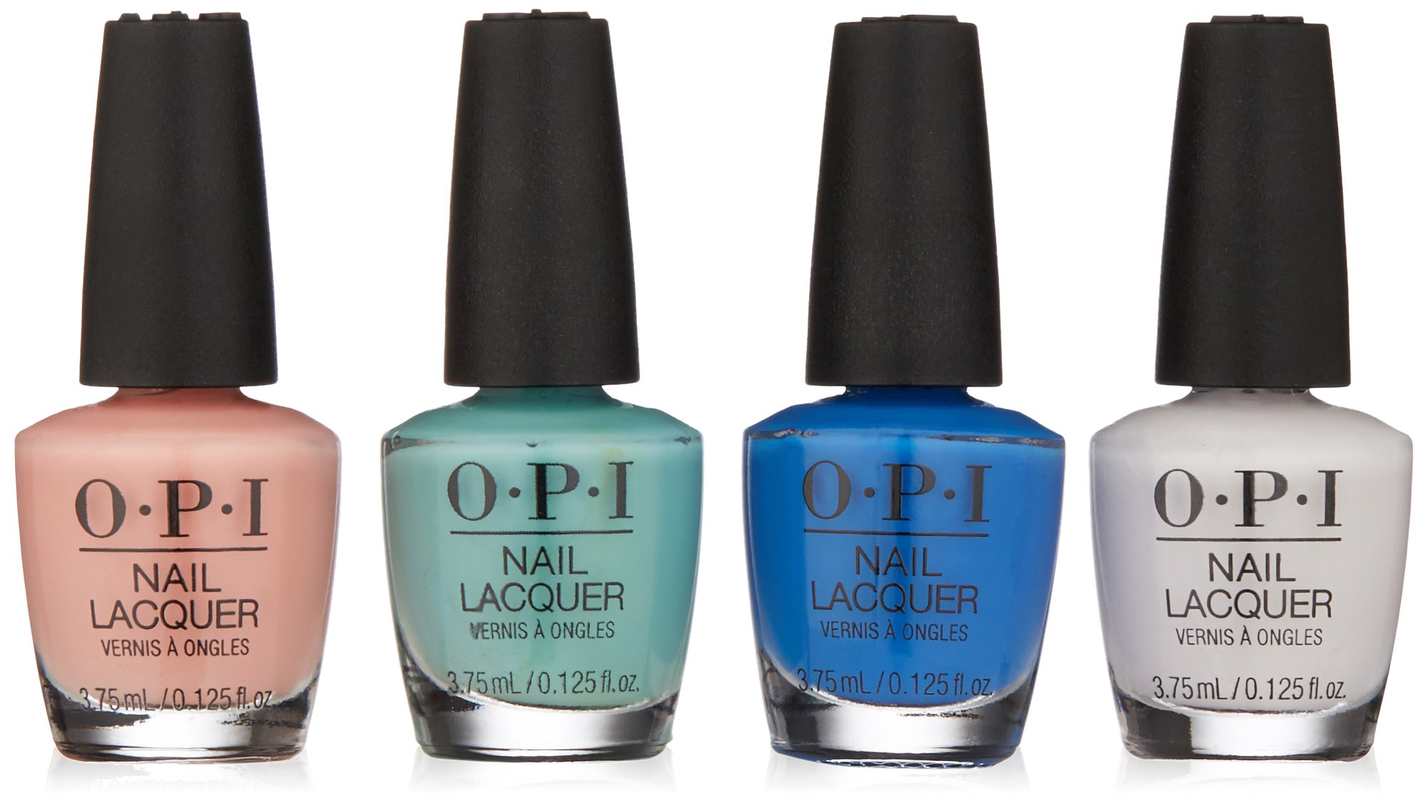 Amazon.com: OPI Spring 2018 Mini Nail Lacquer 4 Piece Pack: Luxury ...