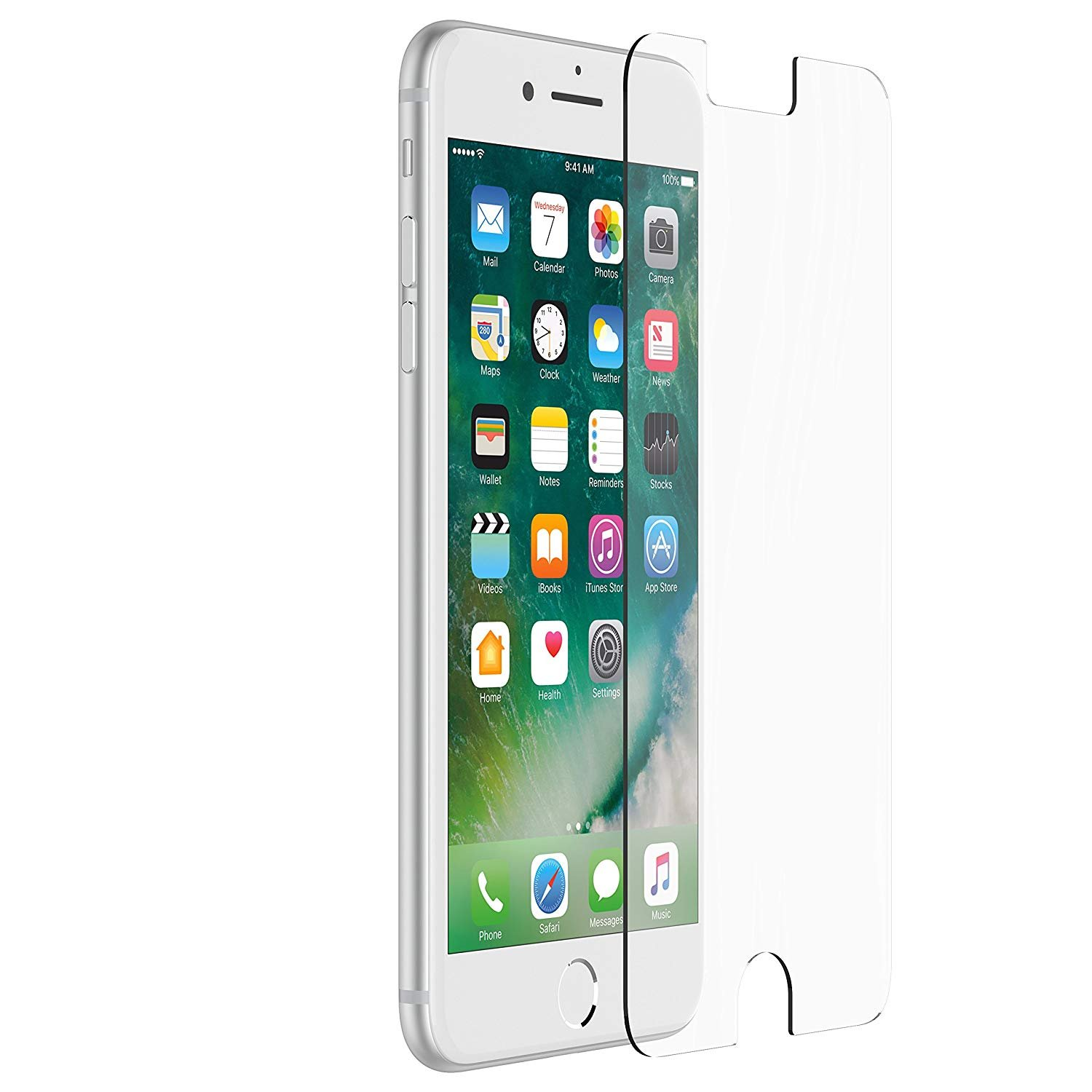 lower price with c29df 7b1ac OtterBox ALPHA GLASS SERIES Screen Protector for iPhone 6 Plus/6s Plus -  Retail Packaging - CLEAR