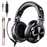 OneOdio A71 Over Ear Headsets with Boom Mic - PS4 Xbox One PC Laptop Wired Stereo Headphones with On-Line Volume & Share…