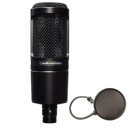 Audio-Technica AT2020 Microfono a condensatore cardioide per studio