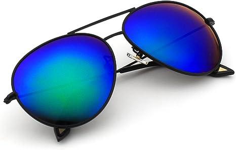CGID MJ89 Lente Antirreflejante Completo Pilot Polarizado UV400 Gafas de Sol con Diseño de Moda Retro Para Hombre y Para Mujer