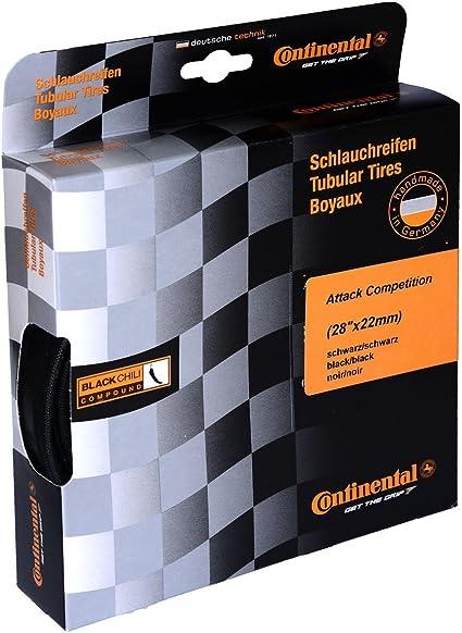 "Continental Tire Sprinter Tubular Road with BlackChili 28/""x22mm Tire Pair"