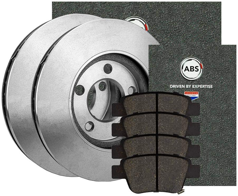 Bremsbel/äge Set Vorne Bremsscheiben 255,0Mm A.B.S