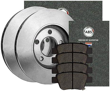 Bremsen Set Vorne Bremsscheiben Bremsbel/äge /Ø 288 Bel/üftet Bremskl/ötze NB PARTS GERMANY 10038332