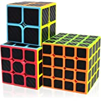 Maomaoyu Cubo Magico Pack, Speed Cube 3x3+2x2+4x4, Cubo