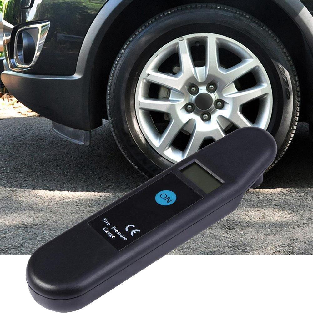 Naliovker Portable LED Display Digital Car Truck Van Tire Pressure Meter Air Gauge